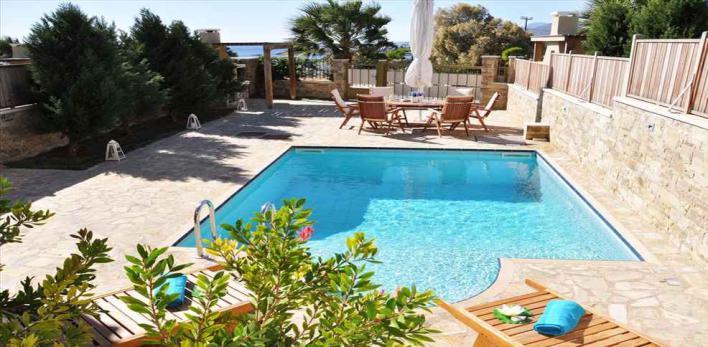 о.Крит. Таунхаус с бассейном