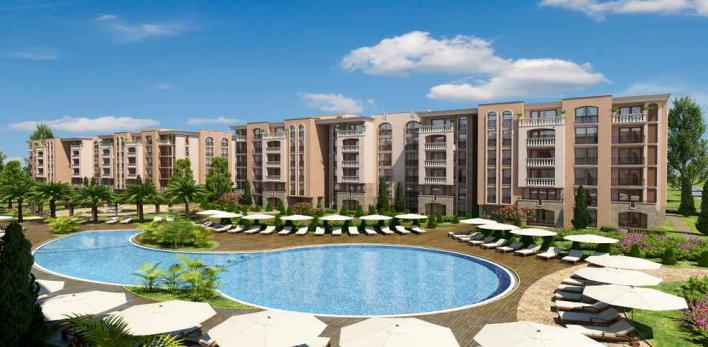 Квартира в лучшем комплексе Солнечного берега в Болгарии